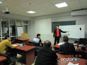 18-е заседание в Клубе Ораторов