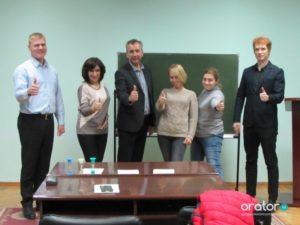 34-е открытое заседание в Клубе Ораторов по проекту «Успешная речь»