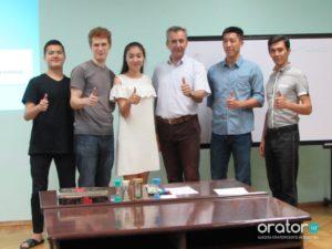 32-е открытое заседание в Клубе Ораторов по проекту «Успешная речь»
