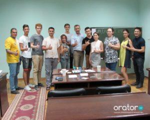 33-е открытое заседание в Клубе Ораторов по проекту «Успешная речь»
