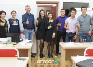 28-е открытое заседание в Клубе Ораторов по проекту «Успешная речь»