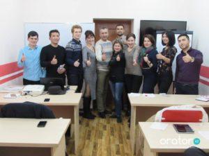 29-е открытое заседание в Клубе Ораторов по проекту «Успешная речь»
