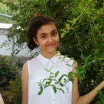 Юсупова Зарина Алишеровна, 14, ученица 8 класса школы № 294